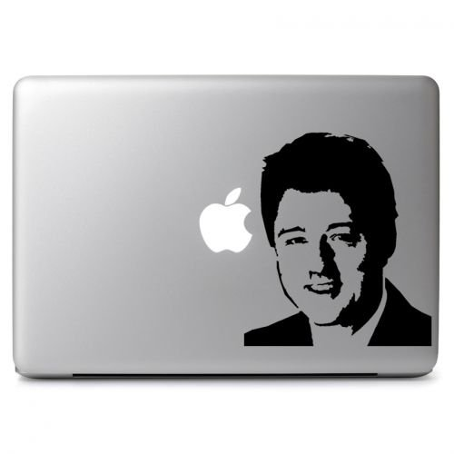 Bill Clinton Case (Bill Clinton US 42nd President Decal Sticker, Die cut vinyl decal for windows, cars, trucks, tool boxes, laptops, MacBook - virtually any hard, smooth surface)