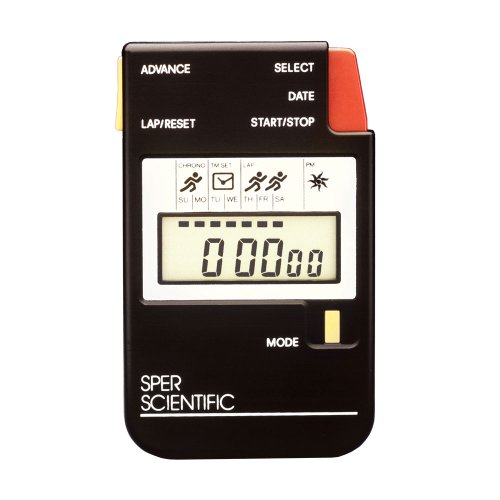 Sper Scientific 810022 Stop Watch, Large LCD Display