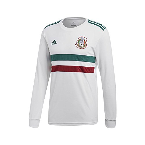 adidas Mexico Men's Away L/S Jersey World Cup 2018 (S) ()