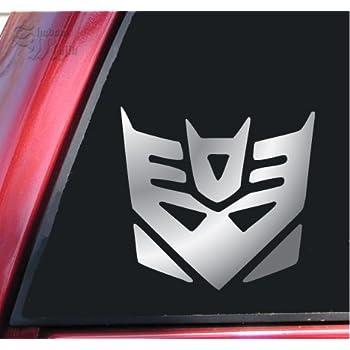 Transformers decepticon vinyl decal sticker 6 x 5 7