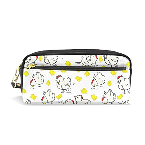 White Yard Rooster BabyConvenient small cosmetic bag, stylish casual style, suitable for all occasions, travel essentials. -