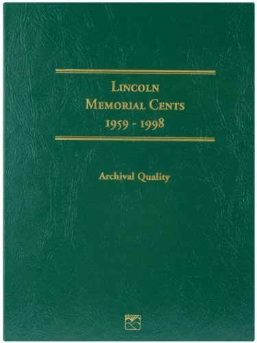 Littleton 1959-1998 Lincoln Memorial Cent Folder by Littleton by Littleton