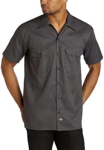 Dickies 1574 Short Sleeve Work Shirt Black XX-Large Tall