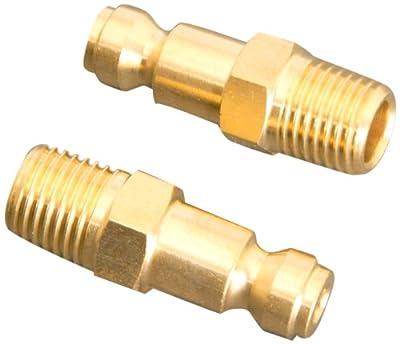 "Apache 51040880 1/4"" x 1/4"" Male Pipe Thread Automotive Plugs"