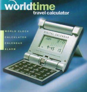 Worldtime Travel Calculator: Amazon.co.uk: Electronics