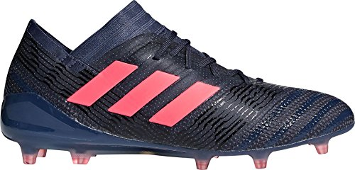 Adidas Nemeziz 17.1 Fg Cleat Womens Soccer Traccia Blue / Red Zest / Black