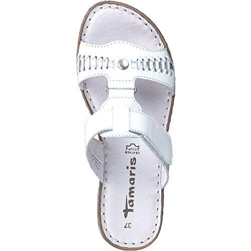 27248 Donna Tamaris 20 1 Scarpe Bianco Chiuse 1 ExEqYwnpv