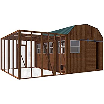 Amazon Com Chicken Coop Plans Diy Poultry Hen House With Run