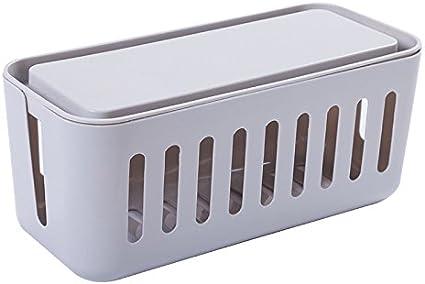 Caja de organizador de cables gestión recipiente grande 12,2 ...
