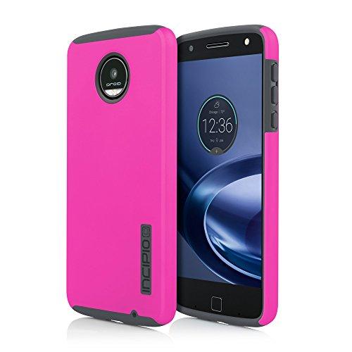 Incipio Motorola Moto Z DualPro Case - Pink/Gray