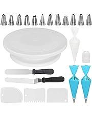 32pcs Piece Cake Turntable Decorating Mouth Set Decoration Kit Supplies With Cake Turntable