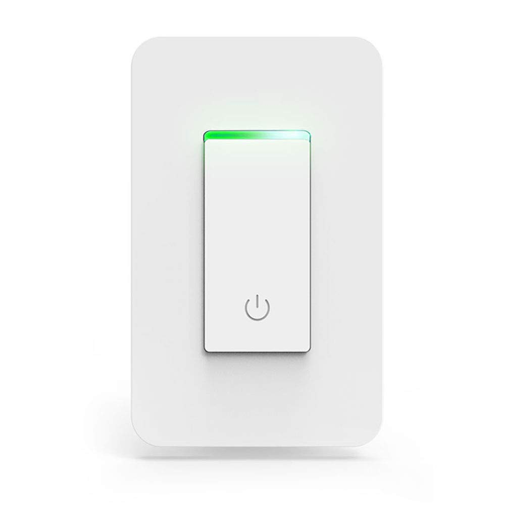 Smart Light Switch, Wi-Fi Switch Wireless Light Switch Compatible with Alexa and Google Home,No Hub Required,Timing Function,Control Your Fixtures From Anywhere (ON/Off Switch-1PCS) by LADUO (Image #1)