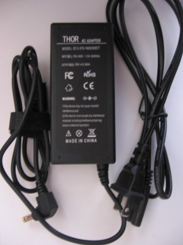 Thor Brand Replacement Ac Power Adapter Cord for Msi Laptop Pc: A4000-068us A4000-069us A4000-078us A4000-092us A5000-025us A5000-026us A5000-040us A5000-436us A6000-030us A6005-201us A6200-206us A6200-220us A6200-248us A6200-461us Battery Charger