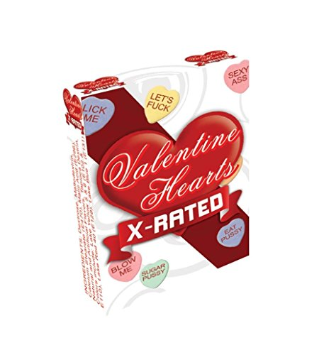 Valentines X Rated Heart Candy Assorted Sayings Eaches ()
