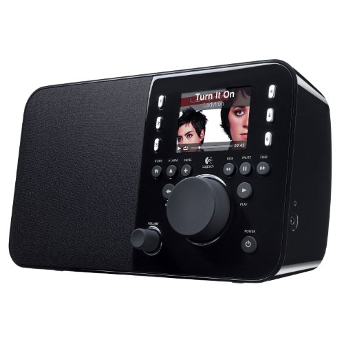 Logitech Squeezebox Radio Music Player with Color Screen (Black) (Discontinued by Manufacturer) (Best Paris Radio Stations)