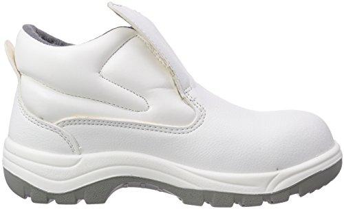 Maxguard W420, Chaussures de sécurité mixte adulte, Blanc (Weiß), 45
