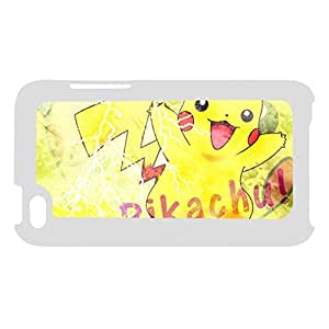 Hipster Back Phone Case For Girly For Apple Touch 4 Printing Pikachu Choose Design 4