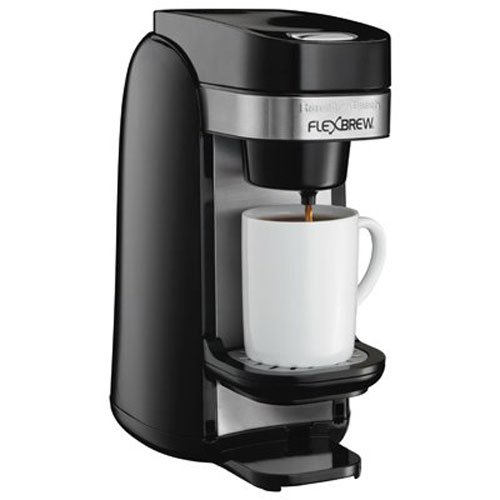 Hamilton Beach Single Serve Coffee Maker, Flexbrew (49997) ()