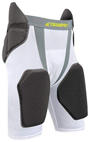 CHAMPRO Integrated Girdle w/Built-in Hip, Tail & Thigh Pads ()