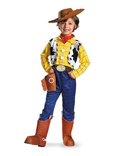 Woody Deluxe Costume - Medium (Deluxe Woody Cowboy Costumes)