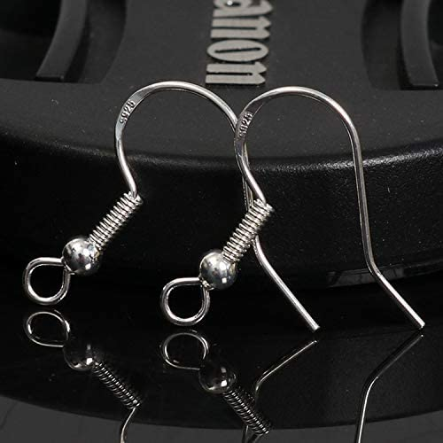 100x Bulk Silver Plated Fish Hooks Earwires Earrings JewelryFindings Lead Free