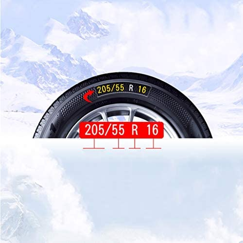 非金属タイヤチェーン 車のスノーチェーン車SUV雪緊急タイヤスノーチェーン簡単にインストール タイヤチェーン 軽自動車 (Size : 235=R16)