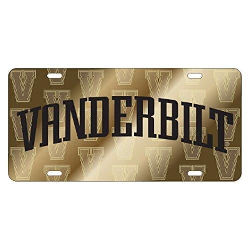 Vanderbilt Laser_Tag SATIN VANDERBILT SYM BACK TAG