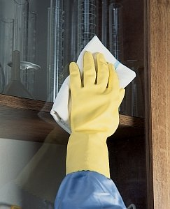 Medline Chemical Protection Housekeeping Glove by Ansell Healthcare Size Medium