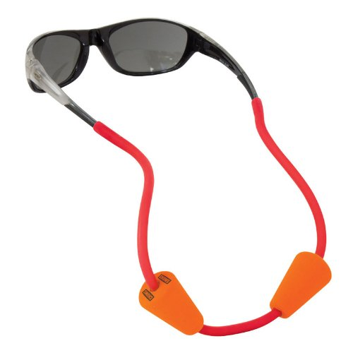 Chums Floating Halfpipe Eyewear Retainer, Red, One Size