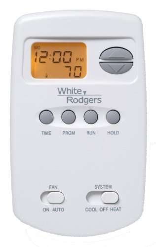 White Rodgers 1E78-151 Digital 5-Heat 2-Cool Programmable Vertical Thermostat
