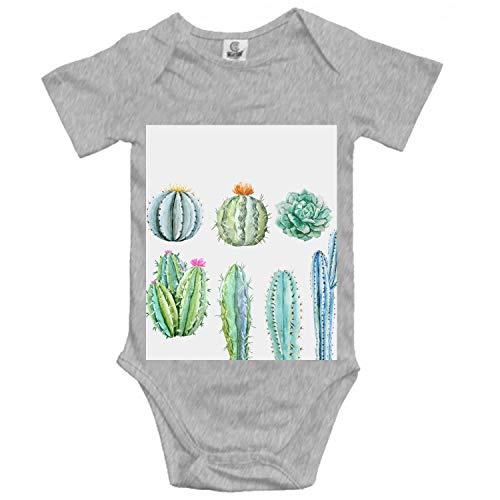 Price comparison product image Newborn Baby Romper-Cactus Set -Toddler Infant Short Sleeves
