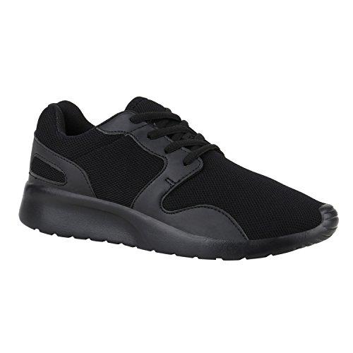 Bottes Paradis Unisexe Hommes Chaussures De Sport Course Sur Des Tailles Flandell Tout Noir