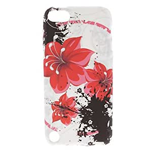 get Flower Pattern Soft TPU Case for iPod Touch 5