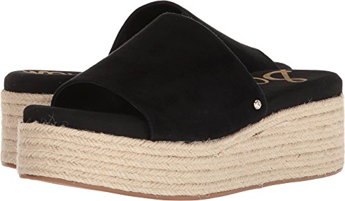 Sam Edelman Women's Weslee Slide Sandal, Black Suede, 8.5 M ()