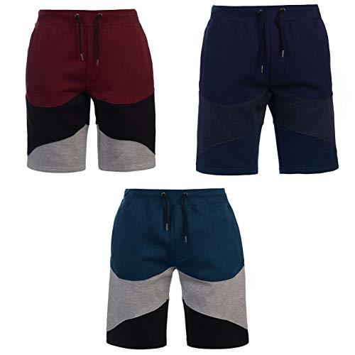 (Pierre Cardin Panel Shorts Mens Bottoms Short Pants Summerwear Navy/Denim/Indigo Medium)