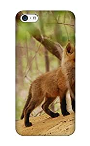 New Arrival Animal Red Fox For Iphone 5c Case Cover Pattern For Gifts