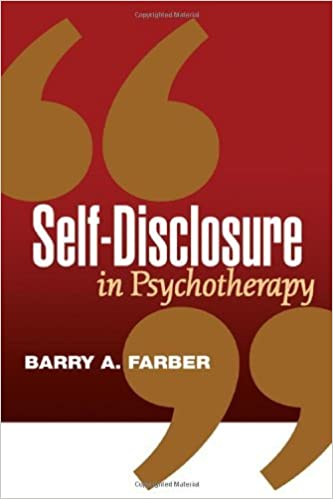 Kostenloser ebookee Download Self-Disclosure in Psychotherapy ePub by Barry A. Farber