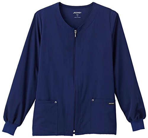Zip Front Scrub Jacket - 5