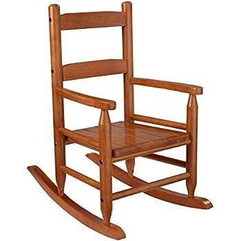 Amazon Com Kidkraft 2 Slat Rocking Chair Honey One Size