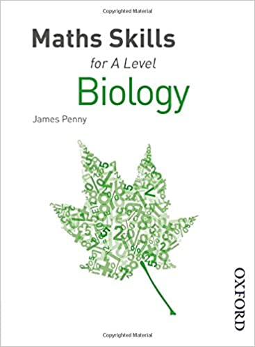 Maths Skills for A Level Biology: Amazon.co.uk: James Penny ...