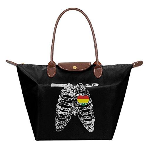 Costume National Tote Bag (Women's Tote Bag Bolivia National Flag Shoulder Bag)