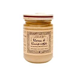 La Favorita Artichoke and Garlic Cream Spread, 4.59 Oz. Jar