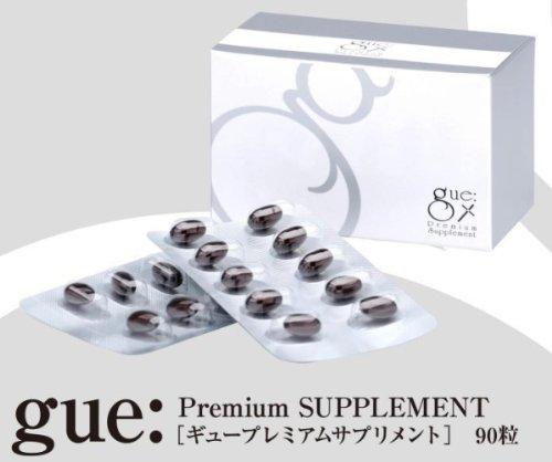 激安 キレイと元気をサポート ギュープレミアムサプリメント gue Premium Supplement 90粒 B00BE1LCIS