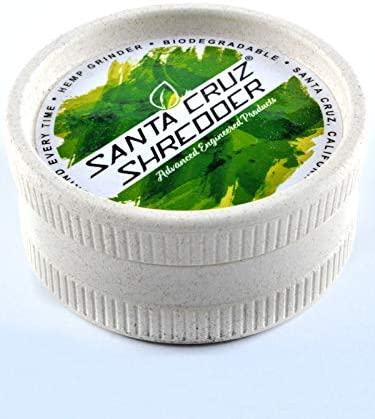 Santa Cruz Shredder Eco - Molinillo de cáñamo Biodegradable ...