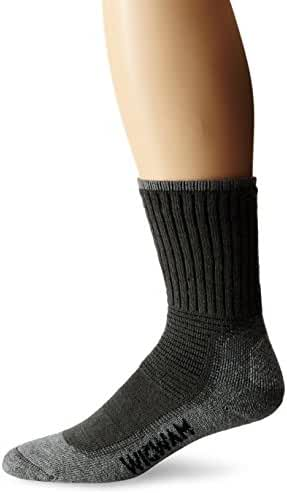 Wigwam Men's Hiking/Outdoor Pro Crew Socks, Charcoal, Medium