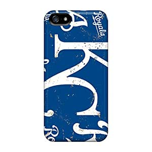 Durable Cell-phone Hard Covers For Iphone 5/5s With Custom HD Kansas City Royals Image MansourMurray