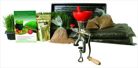 hydroponic wheatgrass kit - 7
