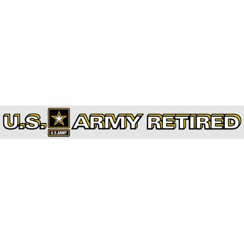 (U.S. ARMY RETIRED*Army Strong Emblem