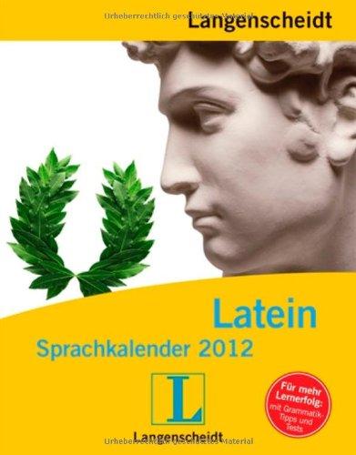 Langenscheidt Sprachkalender Latein 2012 - Abreißkalender