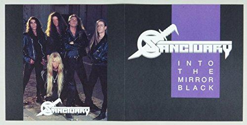 Sanctuary Poster Flat 1990 Into The Mirror Black Album Promo 12x12 4 sided